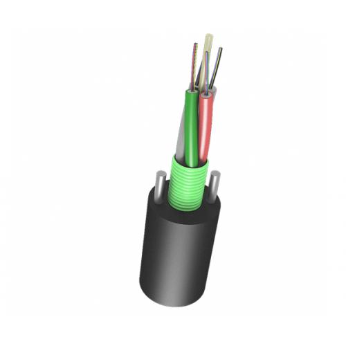 Оптический кабель Канализационный 144 волокна, 2.7кН, модуль, негорючий