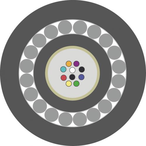 Оптический кабель ОКБ-Т-А12-8.0