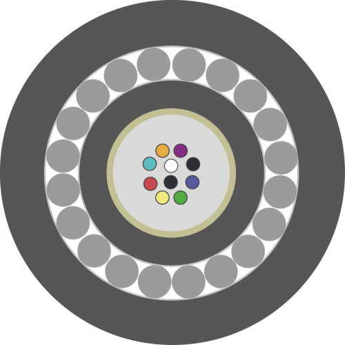Оптический кабель ОКБ-Т-А16-8.0