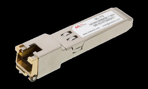 Модуль MlaxLink UTP SFP, 1.25Гб/с, 0.1км, RJ45