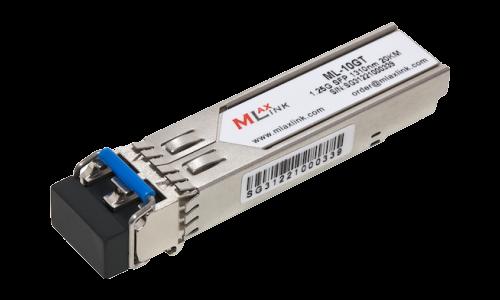 Модуль MlaxLink оптический двухволоконный SFP, 1.25Гб/с, 20км, 1310нм, 2xLC
