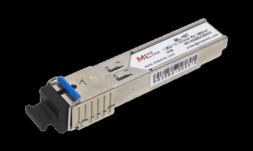 Модуль MlaxLink оптический одноволоконный SFP WDM, 1.25Гб/с, 3км, 1310/1550нм, SC