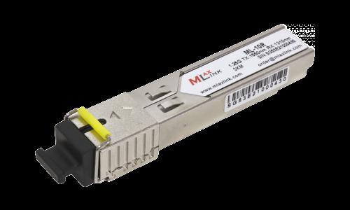 Модуль MlaxLink оптический одноволоконный SFP WDM, 1.25Гб/с, 3км, 1550/1310нм, SC
