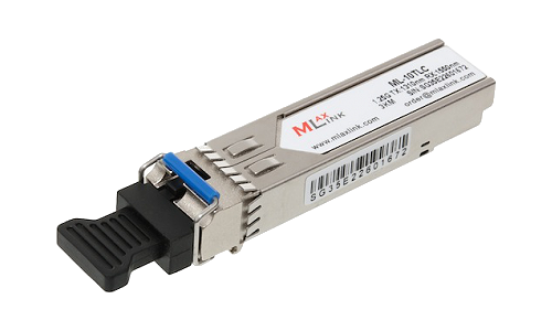 Модуль MlaxLink оптический одноволоконный SFP WDM, 1.25Гб/с, 3км, 1310/1550нм, LC