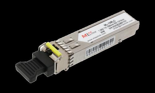 Модуль MlaxLink оптический одноволоконный SFP WDM, 1.25Гб/с, 3км, 1550/1310нм, LC