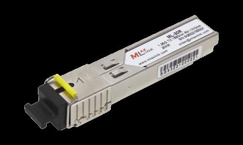 Модуль MlaxLink оптический одноволоконный SFP WDM, 1.25Гб/с, 20км, 1550/1310нм, SC