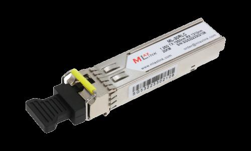 Модуль MlaxLink оптический одноволоконный SFP WDM, 1.25Гб/с, 20км, 1550/1310нм, LC