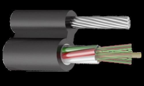 Оптический кабель Подвесной с тросом 144 волокна, 6кН, модуль