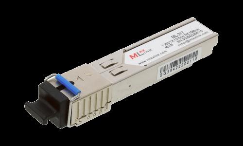 Модуль MlaxLink оптический одноволоконный SFP WDM, 1.25Гб/с, 40км, 1310/1550нм, SC