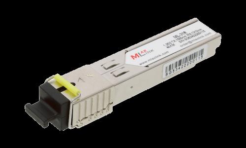 Модуль MlaxLink оптический одноволоконный SFP WDM, 1.25Гб/с, 40км, 1550/1310нм, SC