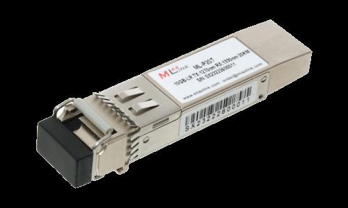 Модуль MlaxLink оптический одноволоконный SFP+ WDM, 10Гбит/с, 20км, 1270/1330нм, LC