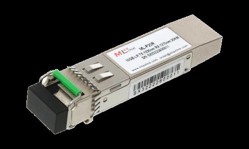 Модуль MlaxLink оптический одноволоконный SFP+ WDM, 10Гбит/с, 20км, 1330/1270нм, LC