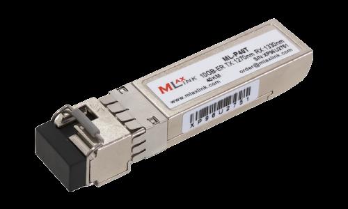 Модуль MlaxLink оптический одноволоконный SFP+ WDM, 10Гбит/с, 40км, 1270/1330нм, LC