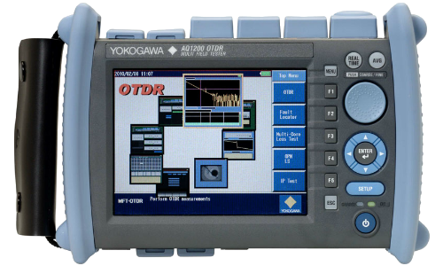 Рефлектометр оптический Yokogawa AQ1200E (SM, 1310/1550/1625 нм, 32/30/30 дБ, PPM, адаптеры FC)