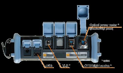 Рефлектометр оптический Yokogawa AQ1205E (SM, 1310/1550/1625 нм, 40/38/36 дБ, PPM, адаптеры FC)