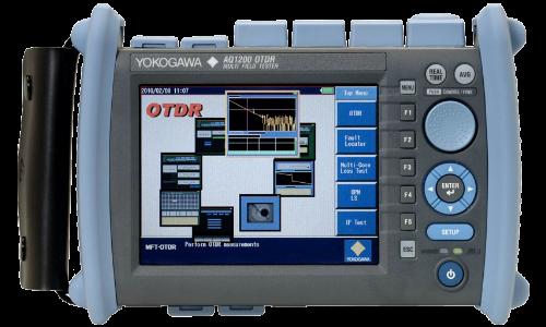Рефлектометр оптический Yokogawa AQ1205F (SM, 1310/1550/1650 нм, 40/38/30 дБ, PPM, адаптеры FC)