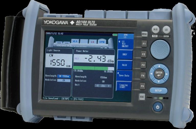 Мультитестер оптический Yokogawa AQ1100B (SM, 1310/1550/1625 нм, HPM, адаптеры FC)