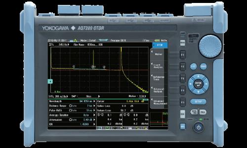 Рефлектометр оптический Yokogawa AQ7280 с модулем AQ7285A (SM, 1310/1550 нм, 50/50 дБ, PC, SLS, FC-адаптер)