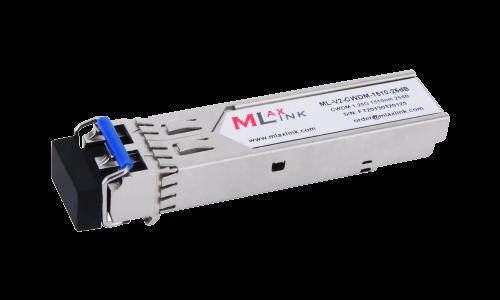 Модуль MlaxLink оптический двухволоконный SFP CWDM, 1.25Гбит/c, 1510нм, 25dB,  2xLC