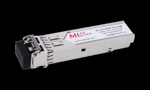Модуль MlaxLink оптический двухволоконный SFP CWDM, 1.25Гбит/c, 1410нм, 32dB,  2xLC