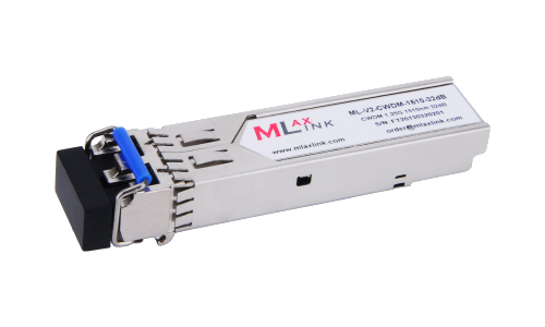Модуль MlaxLink оптический двухволоконный SFP CWDM, 1.25Гбит/c, 1510нм, 32dB,  2xLC