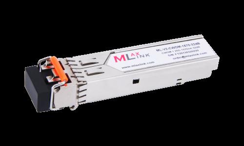 Модуль MlaxLink оптический двухволоконный SFP CWDM, 1.25Гбит/c, 1570нм, 32dB,  2xLC
