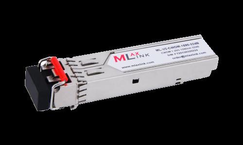 Модуль MlaxLink оптический двухволоконный SFP CWDM, 1.25Гбит/c, 1590нм, 32dB,  2xLC