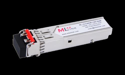 Модуль MlaxLink оптический двухволоконный SFP CWDM, 1.25Гбит/c, 1350нм, 36dB,  2xLC