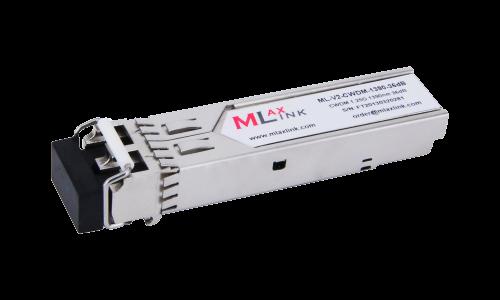 Модуль MlaxLink оптический двухволоконный SFP CWDM, 1.25Гбит/c, 1390нм, 36dB,  2xLC