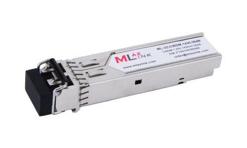 Модуль MlaxLink оптический двухволоконный SFP CWDM, 1.25Гбит/c, 1430нм, 36dB,  2xLC