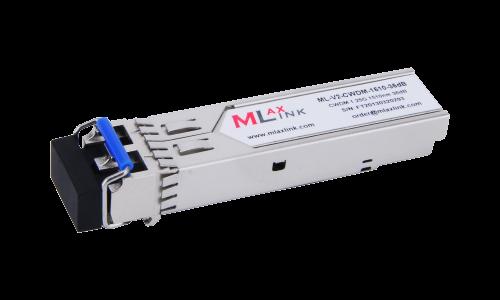 Модуль MlaxLink оптический двухволоконный SFP CWDM, 1.25Гбит/c, 1510нм, 36dB,  2xLC