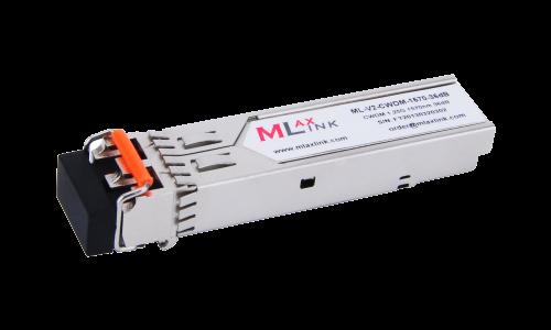Модуль MlaxLink оптический двухволоконный SFP CWDM, 1.25Гбит/c, 1570нм, 36dB,  2xLC