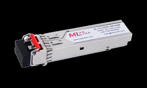 Модуль MlaxLink оптический двухволоконный SFP CWDM, 1.25Гбит/c, 1590нм, 36dB,  2xLC