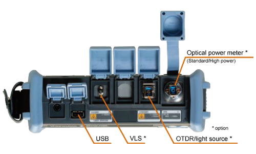 Рефлектометр оптический Yokogawa AQ1200A (SM, 1310/1550 нм, 34/32 дБ, HLT, адаптеры FC)