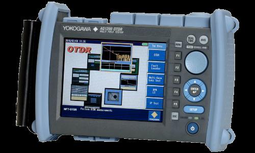 Рефлектометр оптический Yokogawa AQ1200A (SM, 1310/1550 нм, 34/32 дБ, PPM, адаптеры FC)