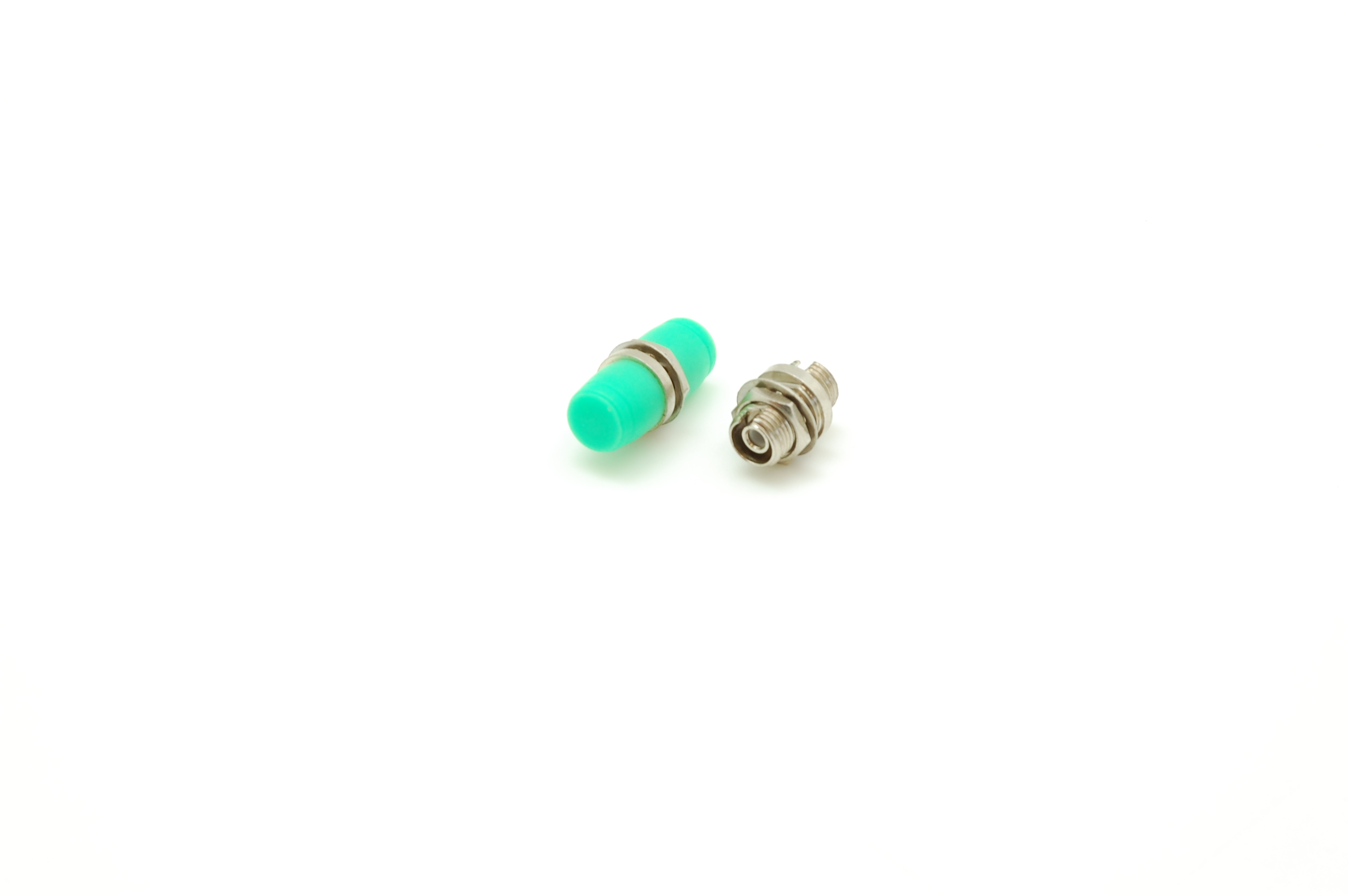 Адаптер NIKOMAX волоконно-оптический, соединительный, одномодовый, FC/APC-FC/APC, одинарный, латунный, тип D, металлик, уп-ка 2шт.