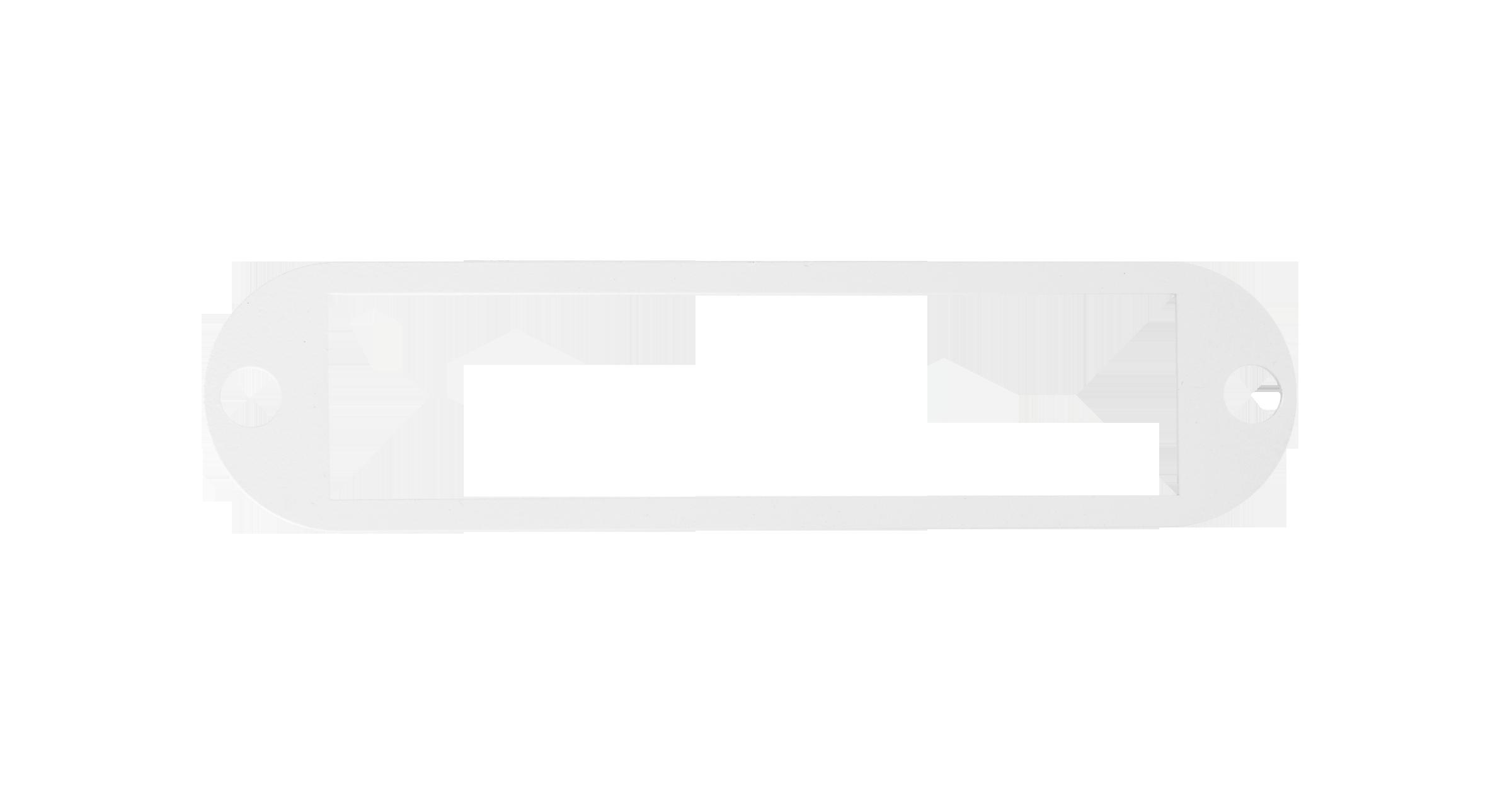 Адаптерная панель NIKOMAX TFI, до 12 одинарных адаптеров SC / двойных адаптеров LC, стальная, серая