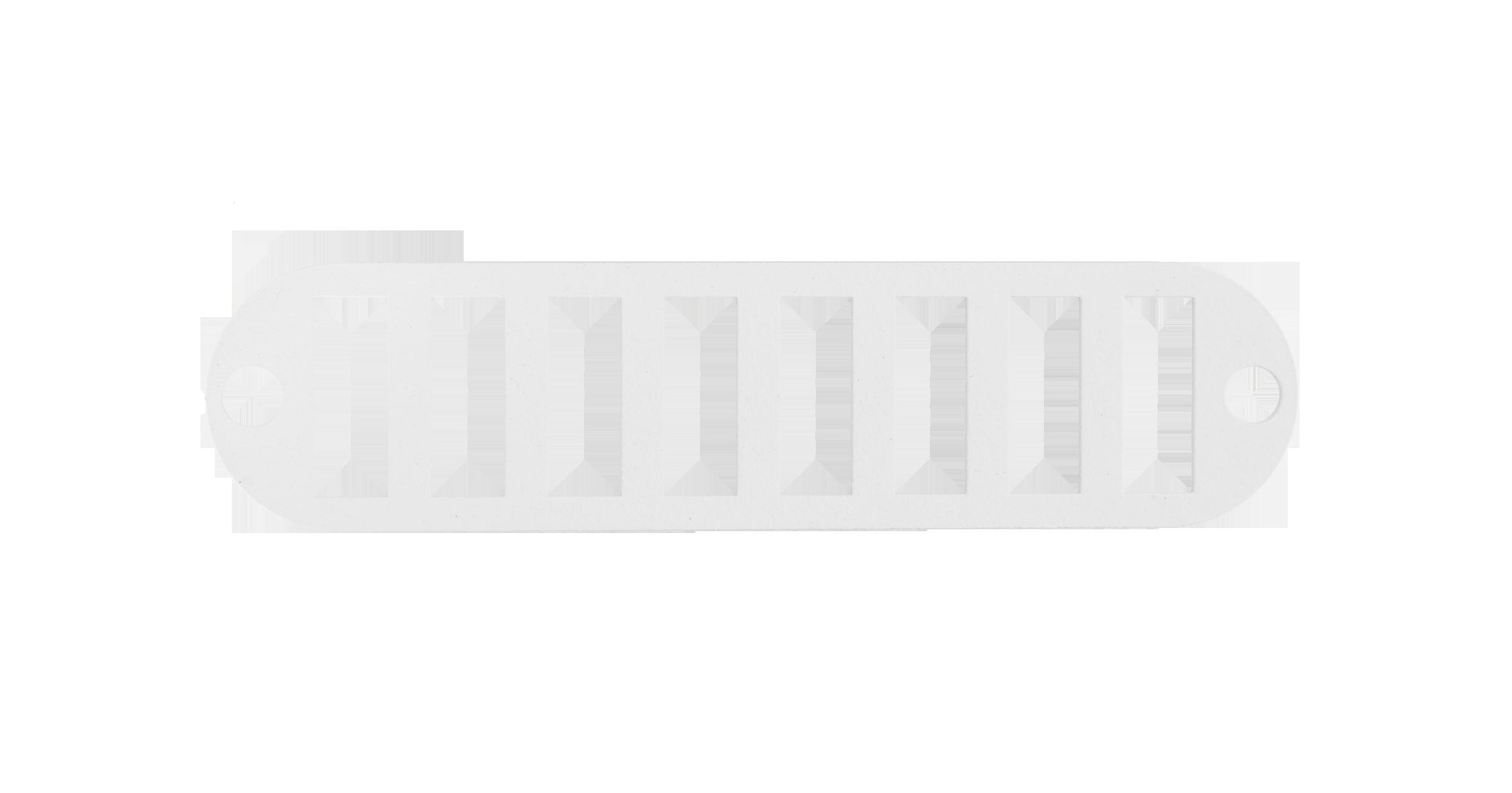 Адаптерная панель NIKOMAX TFI, до 8 двойных адаптеров SC, стальная, серая