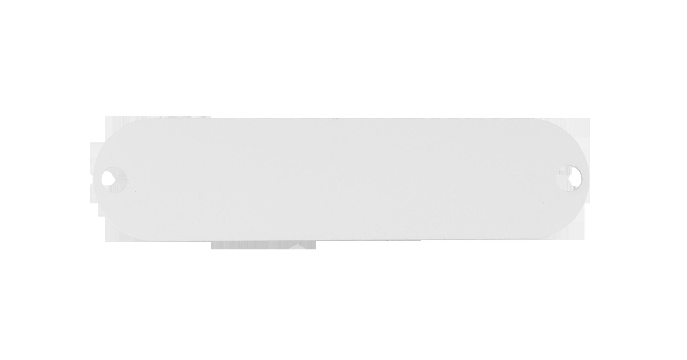 Адаптерная панель-заглушка NIKOMAX TFI, стальная, серая