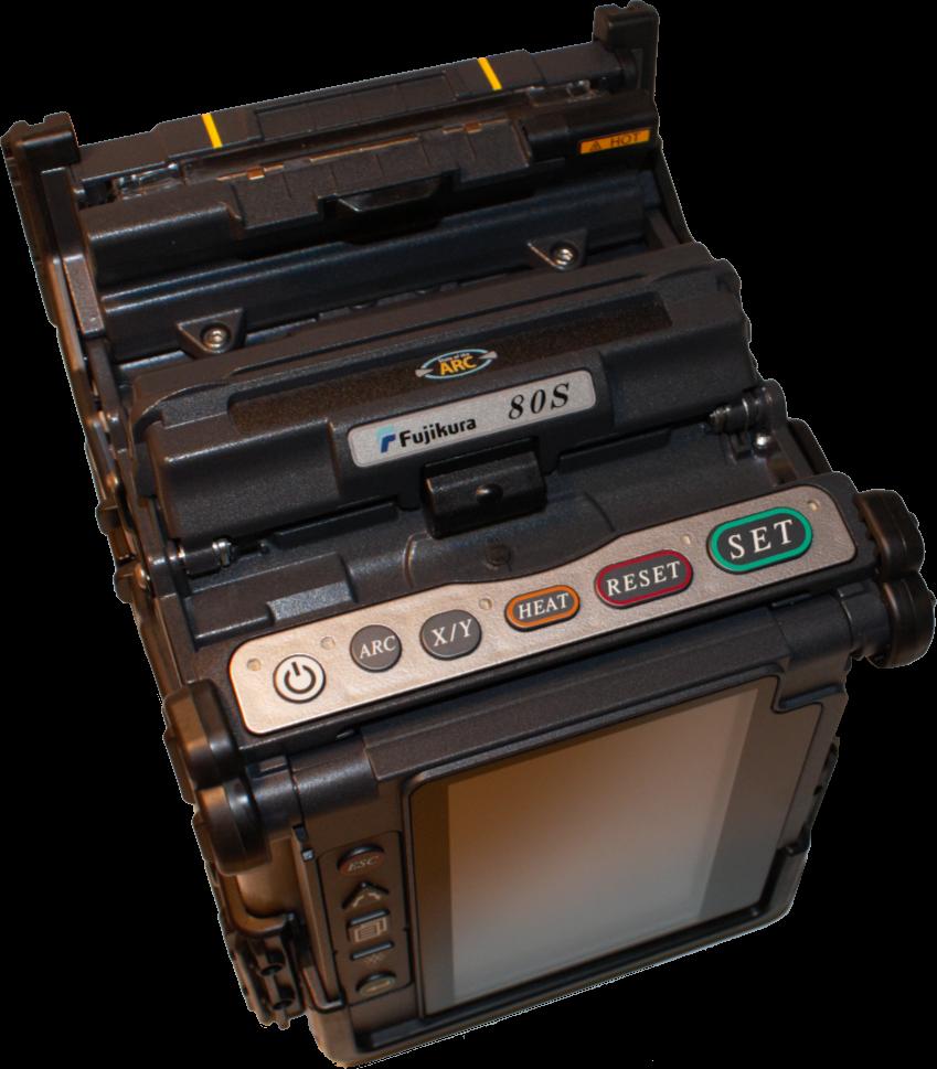 Сварочный аппарат Fujikura FSM-80S+ КИТ-C для оптического волокна (Комплектация FSM-80S, CT-08, BTR-09, DCC-18)