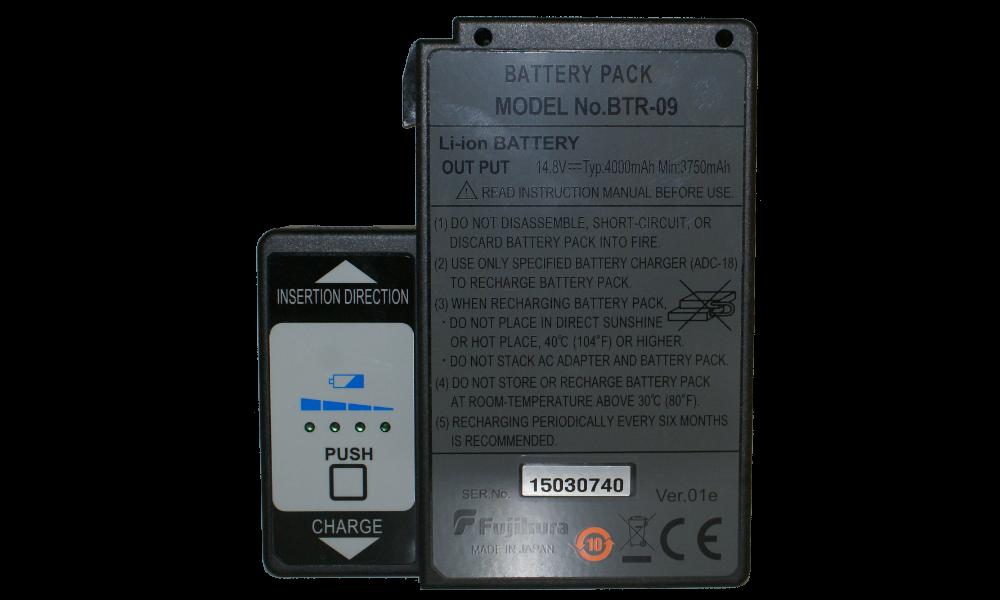 Батарея аккумуляторная Fujikura BTR-09 (FSM-19S, FSM-62S, FSM-80S)
