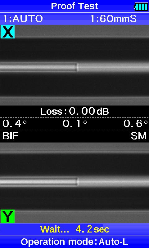 Пример сварки волокна фото 2